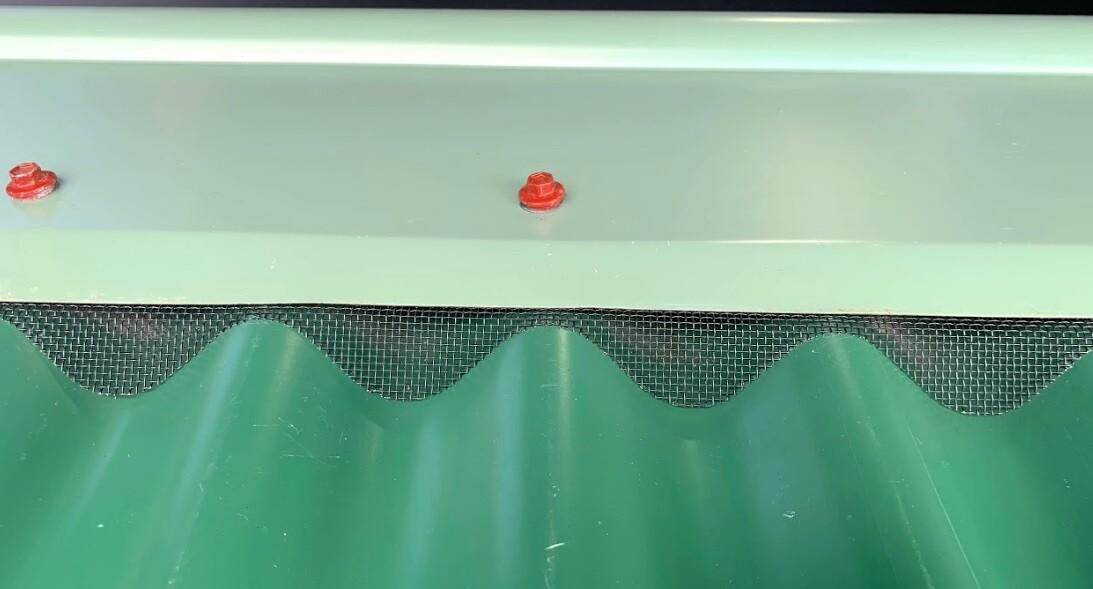 Ridge Vent - Corrugated Mesh Ventilation