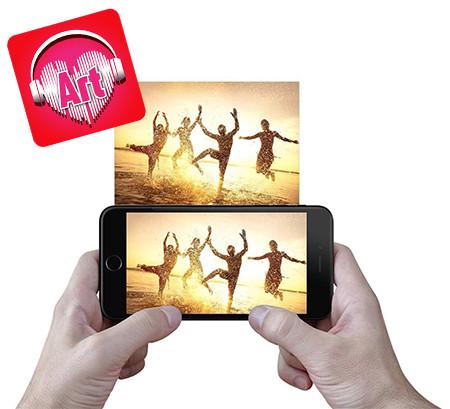 Aluminum Photo Art with Soundwave Media™