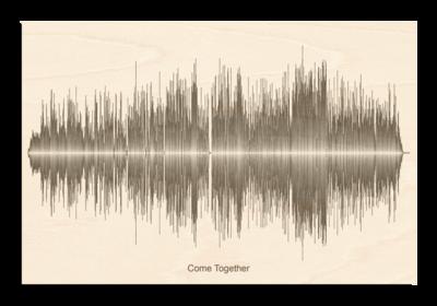 Beatles come together Soundwave Wood