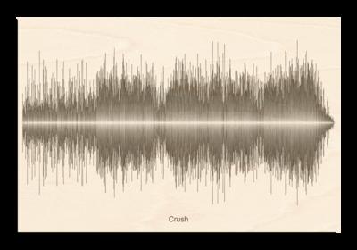 Dave Matthews crush Soundwave Wood