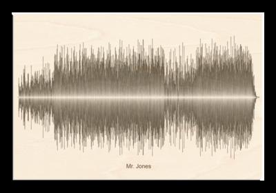 Counting Crows - Mr. Jones Soundwave Wood
