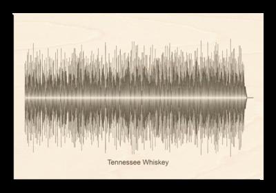 Chris Stapleton - Tennessee Whiskey Soundwave Wood