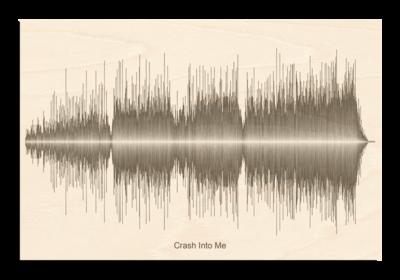 Dave Matthews crash into me Soundwave Wood