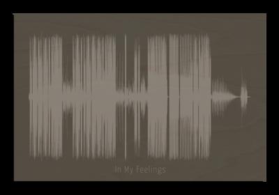 Drake - In my feelings Soundwave Wood