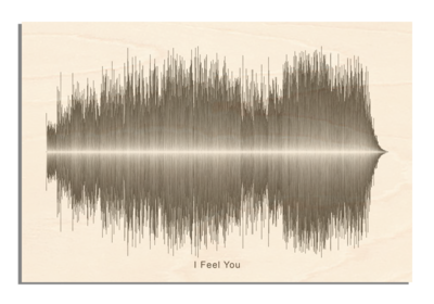 Depeche Mode - I feel you Soundwave Wood