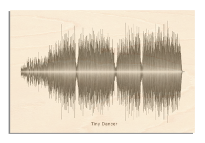 Elton John - Tiny Dancer Soundwave Wood