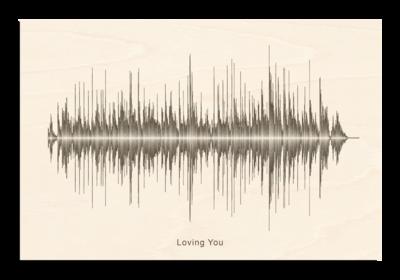 Elvis Presley - loving you Soundwave Wood