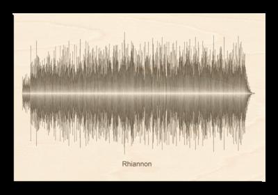 Fleetwood Mac - Rhiannon Soundwave Wood