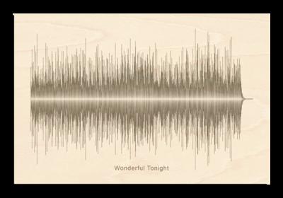 Eric Clapton wonderful tonight Soundwave Wood