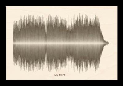 Foo Fighters - My Hero Soundwave Wood