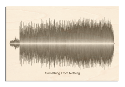 Foo Fighters - Something From Nothing Soundwave Wood
