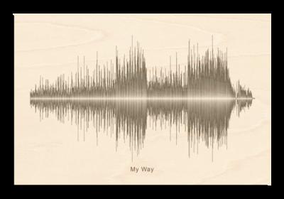 Frank Sinatra - My Way Soundwave Wood