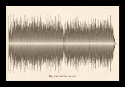Fu Manchu The falcon has landed Soundwave Wood
