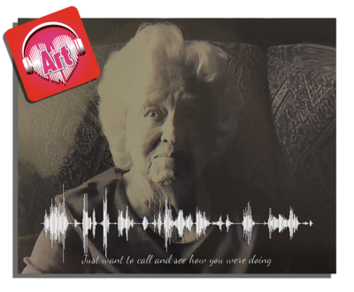 Photo & Voicemail Soundwave - Aluminum