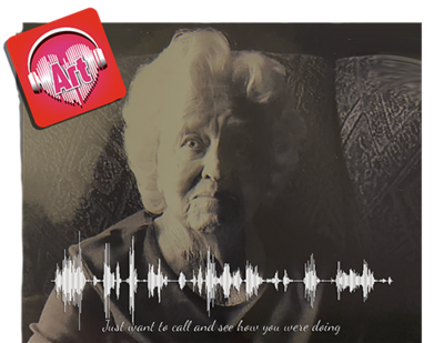 Photo & Voicemail Soundwave - Print