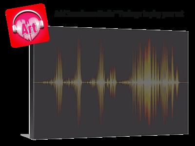 Soundwave Art Canvas