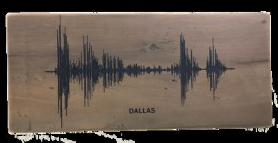 Soundwave Art Reclaimed Barn Wood