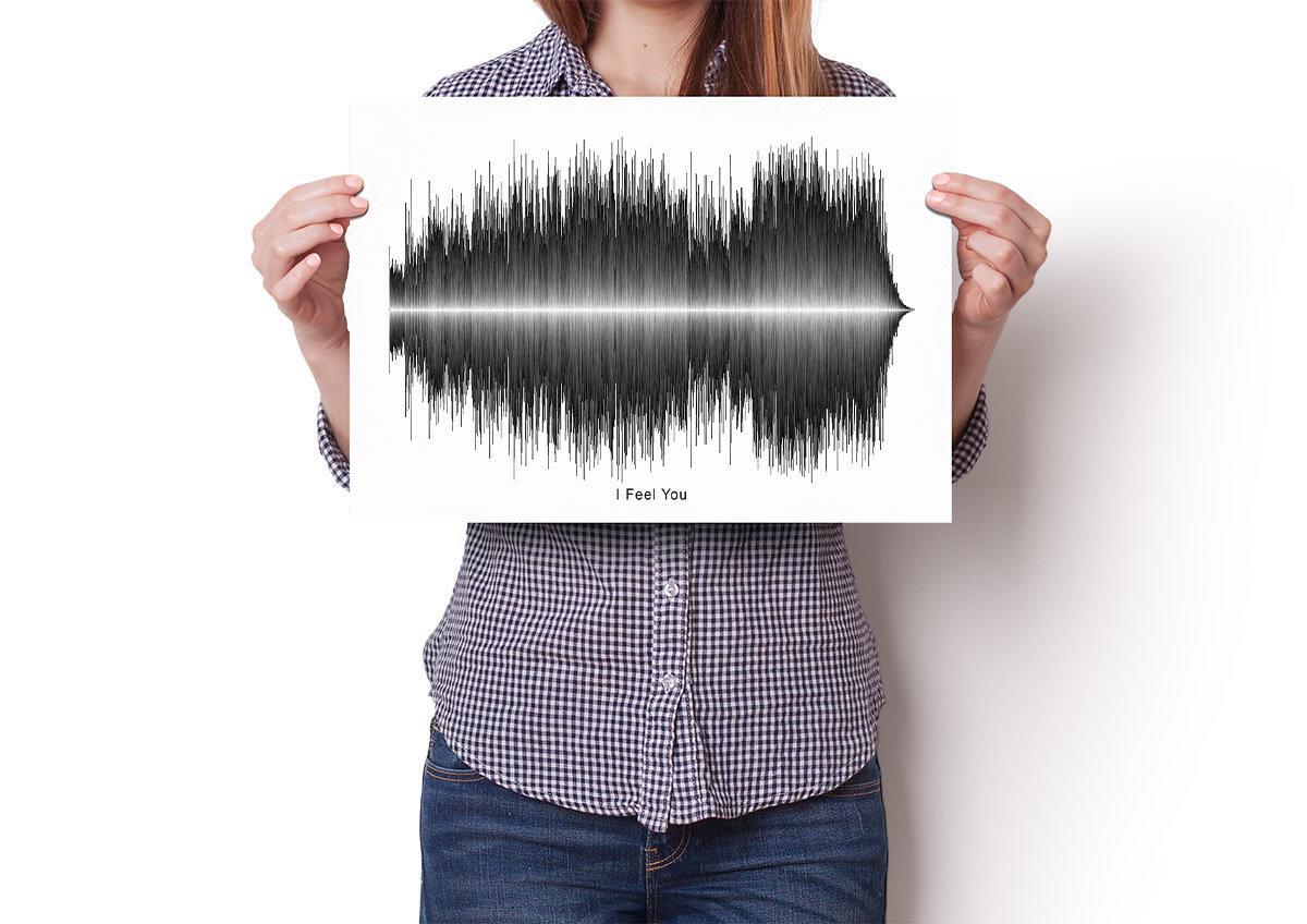Depeche Mode - I Feel you Soundwave Poster
