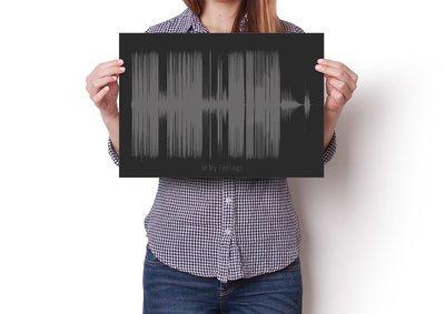 Drake - In My Feelings Soundwave Poster