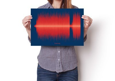 Foo Fighters - Everlong Soundwave Poster