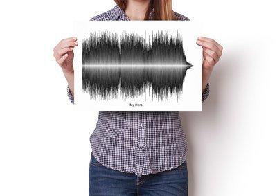 Foo Fighters - My Hero Soundwave  Poster