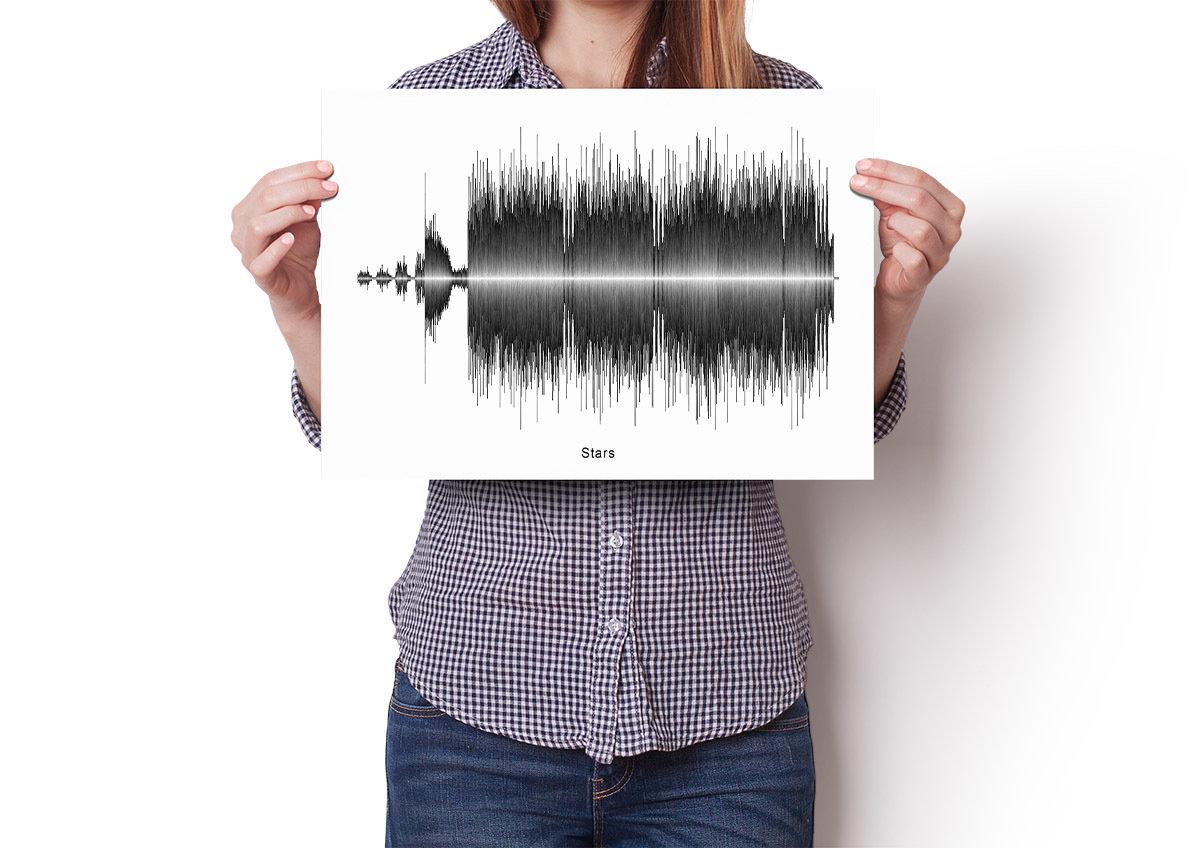 Hum - Stars Soundwave Poster