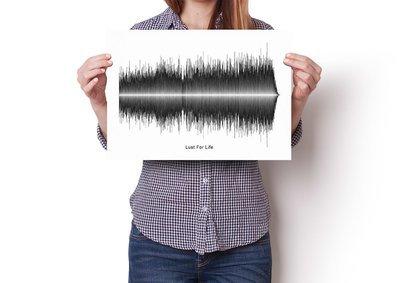 Iggy Pop - Lust For Life Soundwave Poster