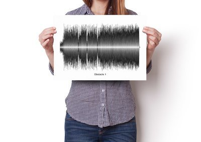 Interpol - Obstacle 1 Soundwave Poster