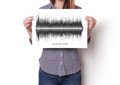Joy Division - Love Will Tear Us Apart Soundwave Poster