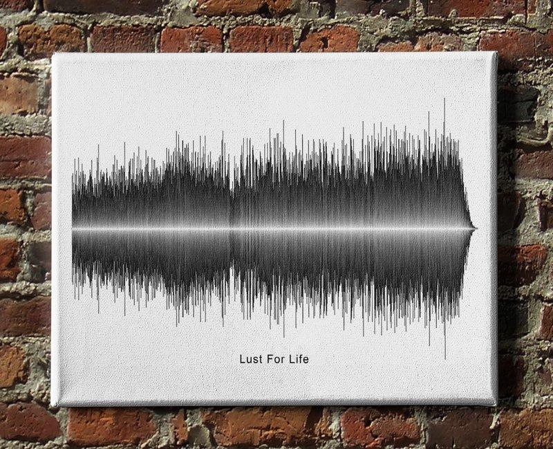 Iggy Pop - Lust For Life Soundwave Canvas