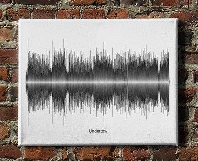 Tool - Undertow Soundwave Canvas