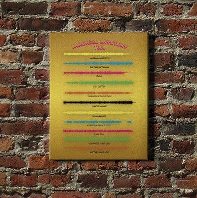 Beatles Album - Magical Mystery Tour Soundwave Canvas