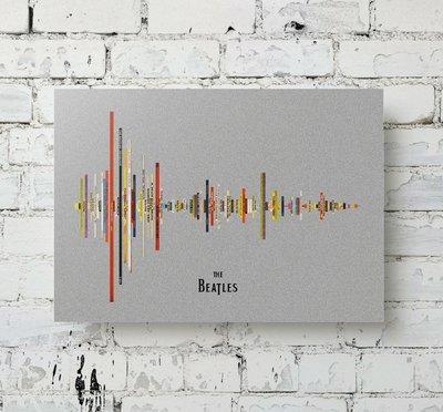 Beatles Album Soundwave Metal