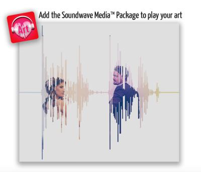 Soundwave Art Picture