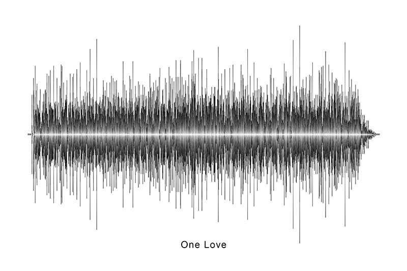 Bob Marley - One Love Soundwave Digital Download