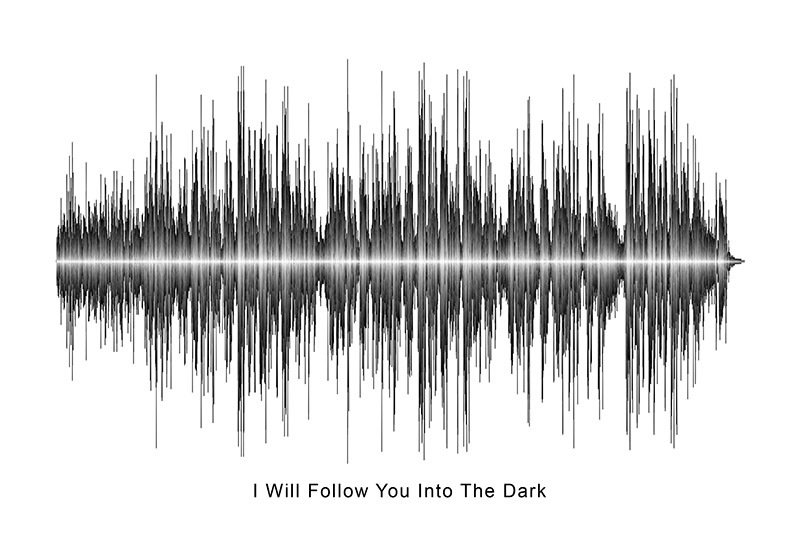 Death Cab For Cutie - I Will Follow you Into The Dark Soundwave Digital Download