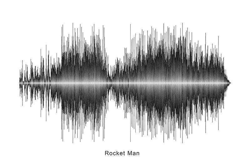 Elton John - Rocket Man Soundwave Digital Download