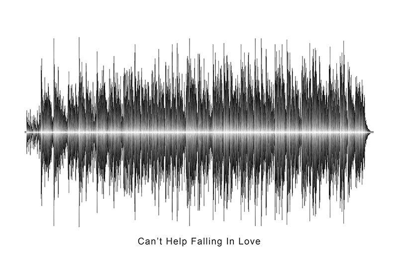 Elvis Presley - Can't Help Falling In Love Soundwave Digital Download