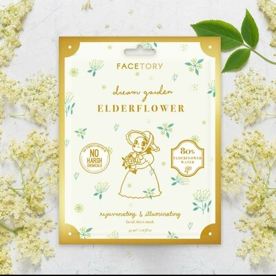 Dream Garden Elderflower Rejuvenating + Illuminating Mask