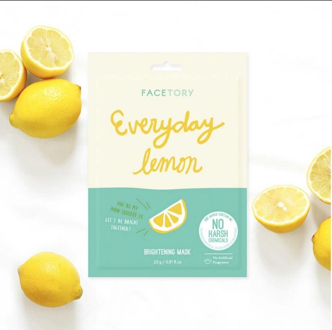 Everyday, Lemon Brightening Mask
