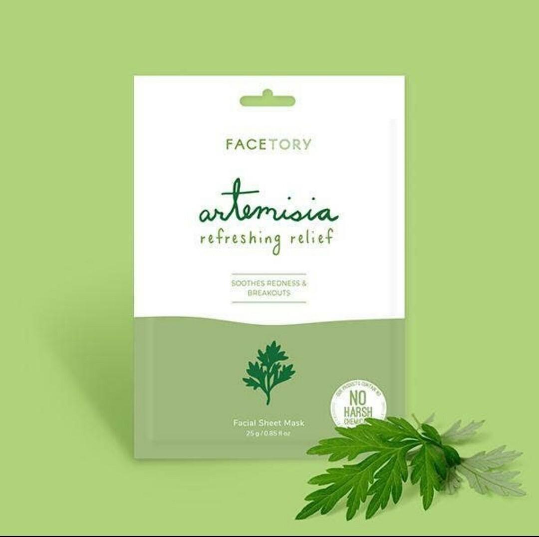 Artemisia Refreshing Relief Facial Sheet Mask
