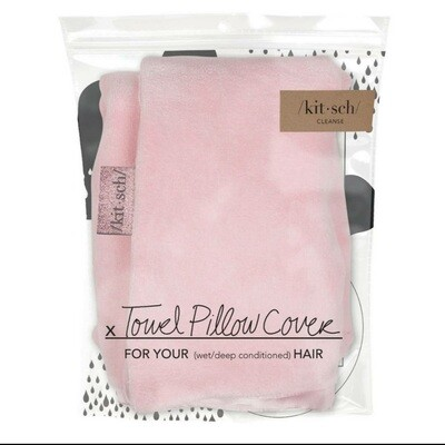 Towel Pillow Cover- Blush
