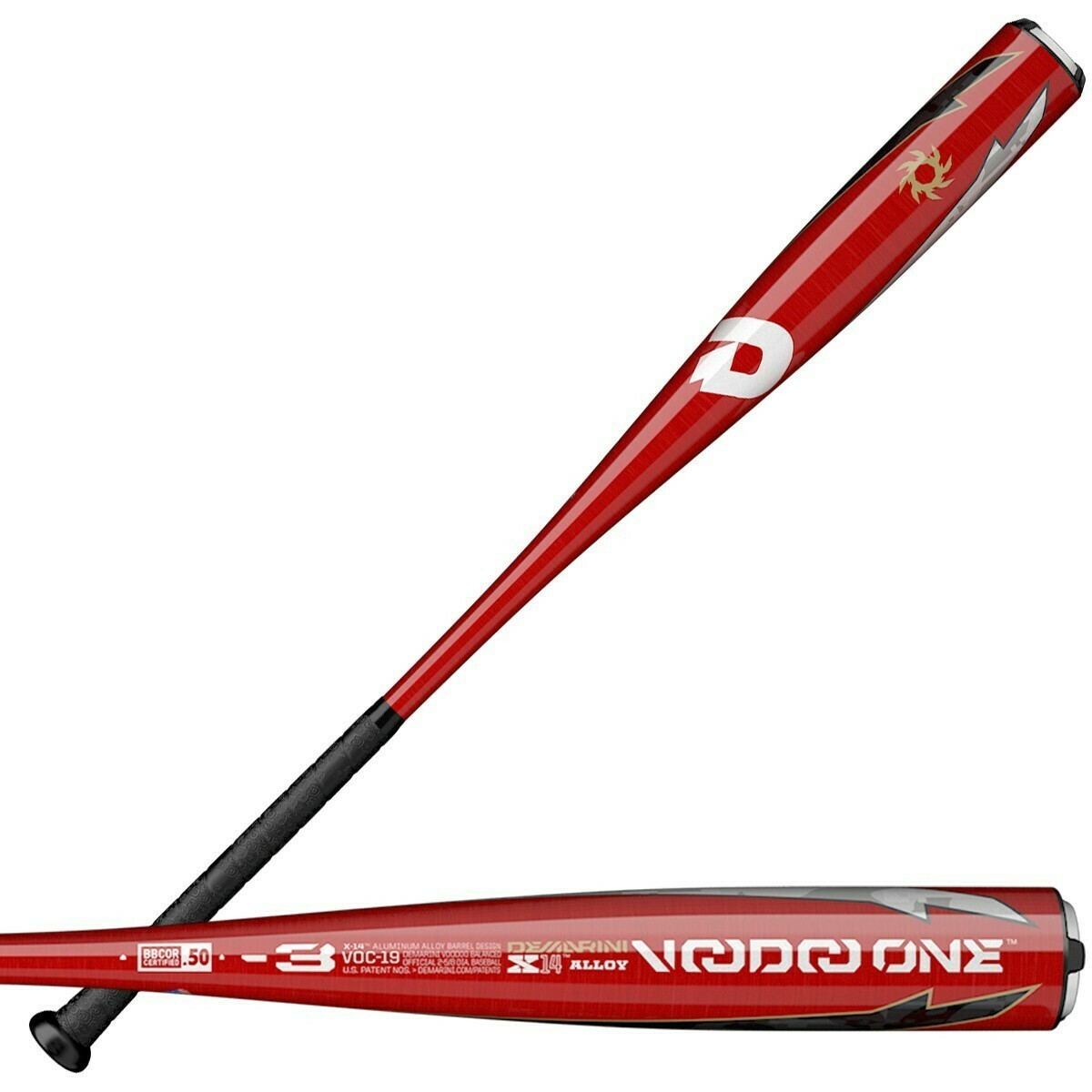DeMarini Voodoo One Balanced 2019 BBCOR (-3)
