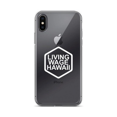 iPhone X/XR/XS Case - White Logo