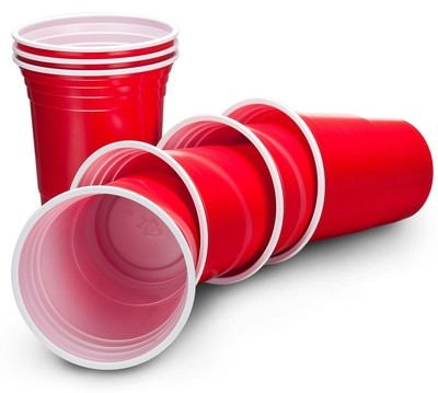 Red Party Cups x5