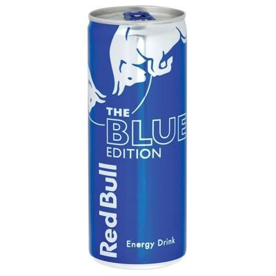 Red Bull Blue edition Myrtille   25cl