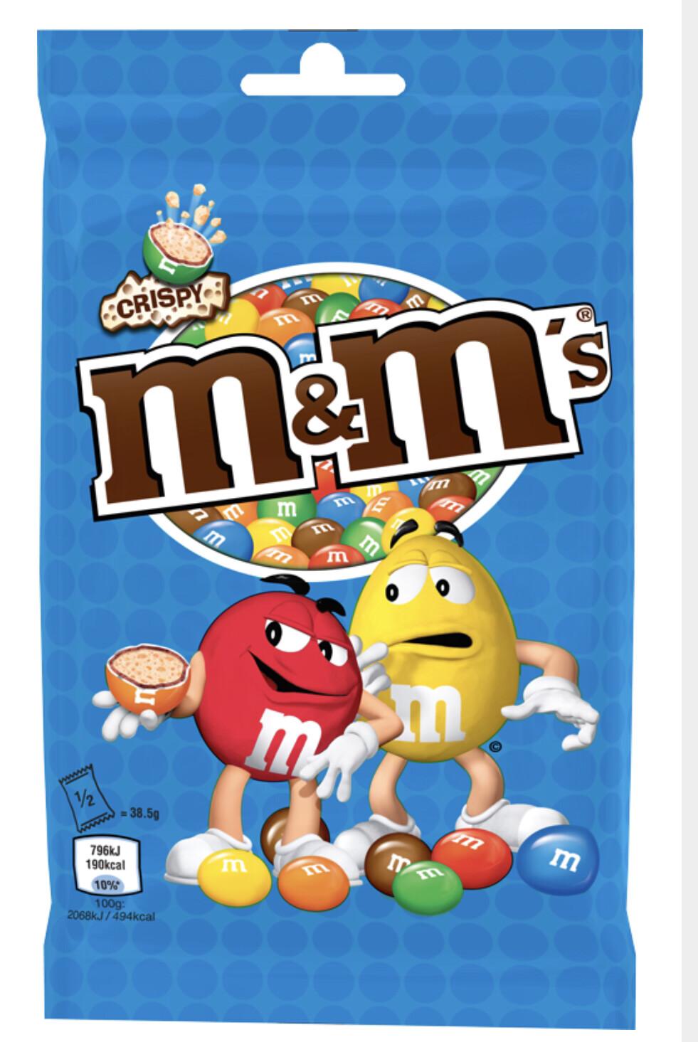 M&M's   Crispy 100g