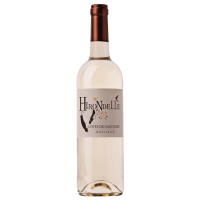 Vin Blanc Hirondelle Moelleux Côtes de Gascogne   75cl