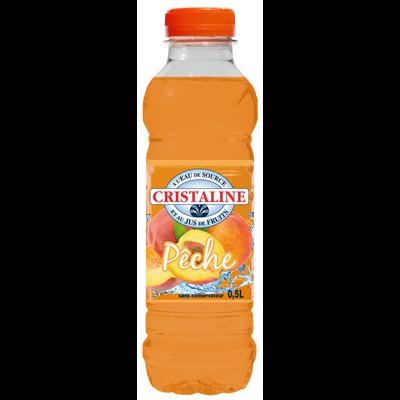 Cristaline Pêche   50cl