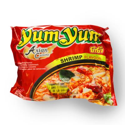 Nouilles chinoises YumYum saveur crevettes   60g